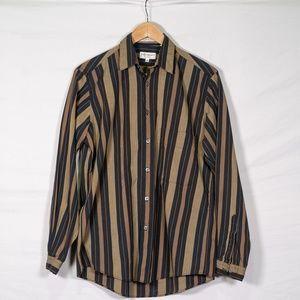 Vintage Yves Saint Laurent Button Up Dress Shirt